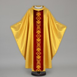 Gothic Chasuble 13664 - Gold