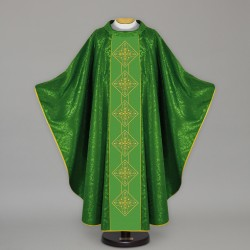 Gothic Chasuble 13674 - Green
