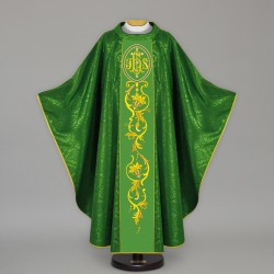 Gothic Chasuble 13677 - Green  - 1