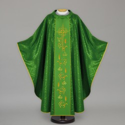 Gothic Chasuble 13678 - Green  - 1