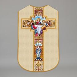 Printed Roman Chasuble 4537 - Cream  - 1