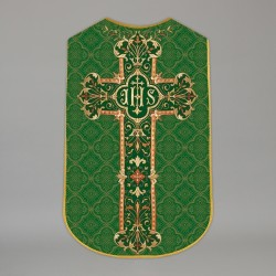 Printed Roman Chasuble 4546 - Green  - 1