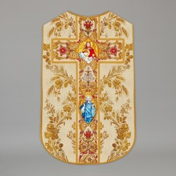 Printed Roman Chasuble 4551 - Cream  - 1