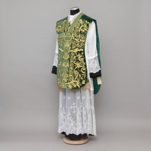 Roman Chasuble 10953 - Green  - 1