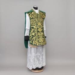 Roman Chasuble 10953 - Green  - 4