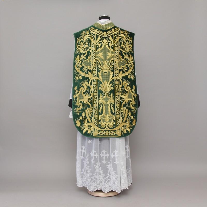 Roman Chasuble 10953 - Green  - 8