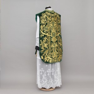 Roman Chasuble 10953 - Green  - 9