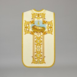 Roman Chasuble 13706 - Cream