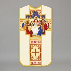Roman Chasuble 13708 - Cream  - 1
