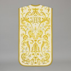 Roman Chasuble 13709 - Cream