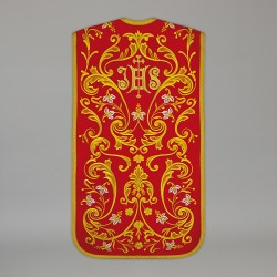 Roman Chasuble 13710 - Red  - 1