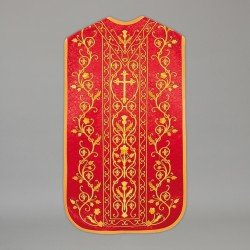 Roman Chasuble 13712 - Red  - 1