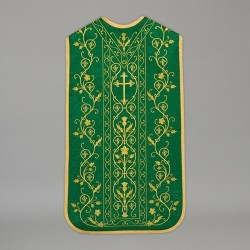 Roman Chasuble 13713 - Green  - 1