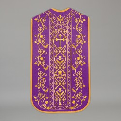 Roman Chasuble 13715 - Purple