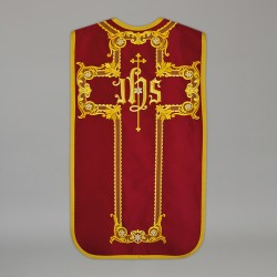 Roman Chasuble 13717 - Red