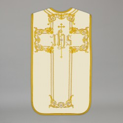 Roman Chasuble 13718 - Cream