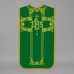 Roman Chasuble 13719 - Green  - 1