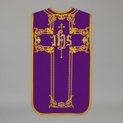 Roman Chasuble 13720 - Purple