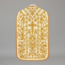 Roman Chasuble 13721 - Cream