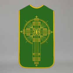 Roman Chasuble 13723 - Green  - 1