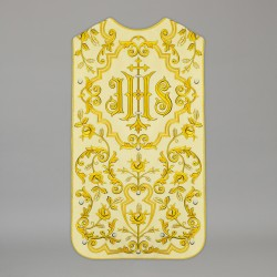 Roman Chasuble 13725 - Cream
