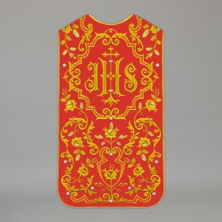 Roman Chasuble 13727 - Red