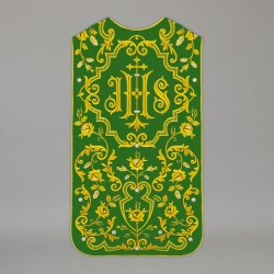 Roman Chasuble 13728 - Green  - 1