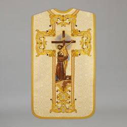 Roman Chasuble 13729 - Cream  - 1