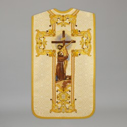 Roman Chasuble 13729 - Cream