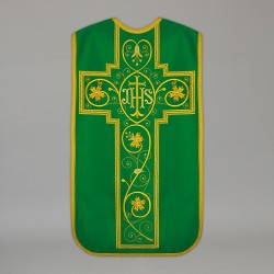 Roman Chasuble 13730 - Green  - 1