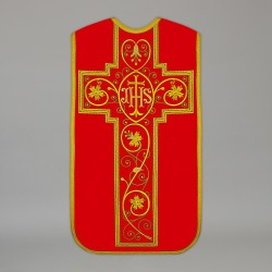 Roman Chasuble 13732 - Red