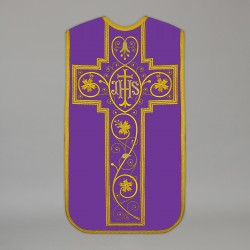 Roman Chasuble 13733 - Purple