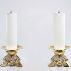 2 Candle holders with Oil...