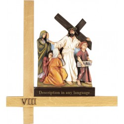 "Stations of the Cross 28"" -..."
