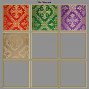 Roman Chasuble 12958 - Green  - 18