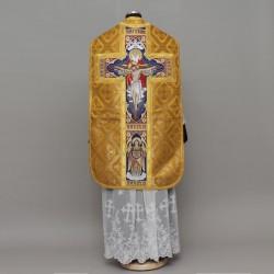 Crucifixion Roman Chasuble 13821 - Gold
