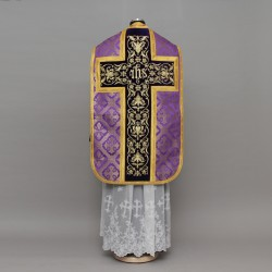 Roman Chasuble 13824 - Purple
