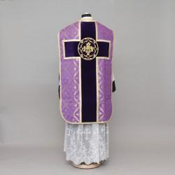 Roman Chasuble 2625 - Purple