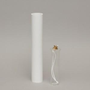 White Oil Candle 2'' Diameter  - 7