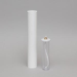 White Oil Candle 2'' Diameter  - 4