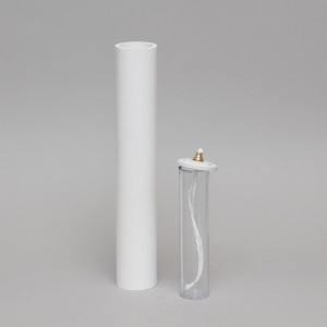 White Oil Candle 2'' Diameter  - 5
