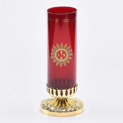 Sanctuary Light Holder with Glass 6660  - 1