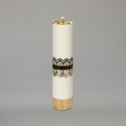 Decorated Oil Candle 11666  - 1