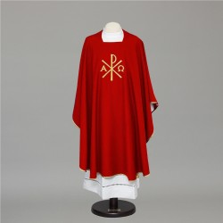 Gothic Chasuble 6664 - Red  - 1