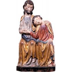 Jesus Sitting with St. John...