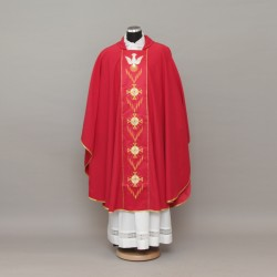 Gothic Chasuble - Red