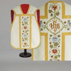 Roman Chasuble 14797 - White