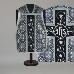 Roman Chasuble 14788 - Black