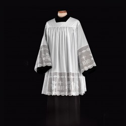 Surplice with lace 14839