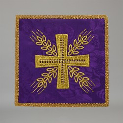 Cross with Wheat Pall 14862